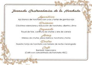 Jornada Gastronomica de la Horchata