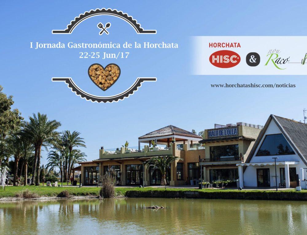 Horchatas HISC y Nou Racó se unen para realizar una Jornada Gastronómica con menú de Horchata y Chufa