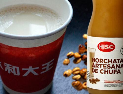 Primera firma Valenciana en vender Horchata en China