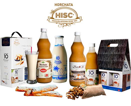 Botellas Horchata HISC + Chufas